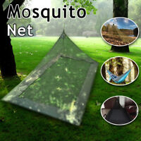 Portable Mosquito Net Tent Pyramid Single Person Outdoor Hiking Camp Protection