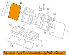Dodge CHRYSLER OEM 05-08 Magnum Rear Seat-Seat Back Frame Right 5139649AA