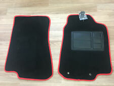 Car Floor Mats Custom Made Front Pair w/Red Edging: Ford Falcon/Fairlane BA/BF