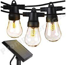 Sunforce String Lights 15 LED bulbs Solar Empowered battery 10 meter - 33 feet