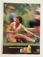 Gatorade Thirst Quencher Stokely Van Camp Vintage 1983 Print Ad