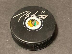 Patrick Sharp Chicago Blackhawks Autographed Signed Puck