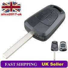 2 Button Remote Key Case For Vauxhall Opel Astra H Zafira B Meriva Vectra Corsa