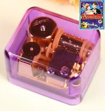 JAPAN SANKYO PURPLE GOLD WIND UP MUSIC BOX :  Once Upon a December