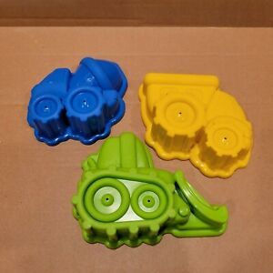 NEW Little Tikes 3 Piece Sand Mold Toy Set Tools Beach Water Table Dump Truck