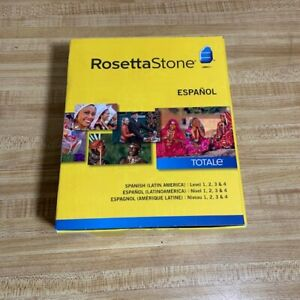 New Open box Rosetta Stone Espanol Totale Version 4 (Spanish, Latin America)