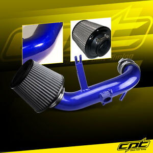 For 11-13 Mitsubishi Outlander Sport 2.0L Blue Cold Air Intake+ Stainless Filter