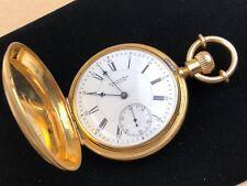 E. Howard & Co. Boston 18k 1880s Pocket Watch Series VII Size N 156 Grams -RARE!