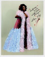 BLAZE STARR hand signed 8x10 color photo       GORGEOUS+SEXY BURLESQUE DANCER