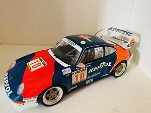 Porsche 911 Gt2 Repsol Daytona 1996 1:18 Ut Models Maqueta Diecast Con TARAS