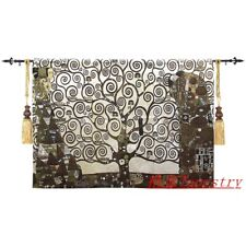 Tapestry Wall Background Decorative Painting Gustav Klimt  for The Tree of Life
