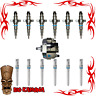2003-2004 5.9L DIESEL INJECTOR DELUXE SET FOR DODGE CUMMINS WITH PUMP & TUBE