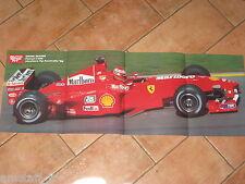 # POSTER EDDIE IRVINE FERRARI F399 GP F1 AUSTRALIA 1999 CM.77X28 AB15