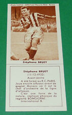 FOOTBALL BISCUITS REM 1958 STEPHANE BRUEY AS MONACO RCP SCO AGEDUCATIFS PANINI