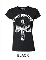 CAMP FUNTIME Womens T-Shirt Retro Debbie Harry Blondie Cotton No Pattern BNWT