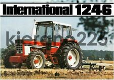A3 Case McCormick International Harvester Tractor Brochure Poster 1246