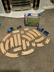 Thomas & Friends Wooden Wood Railway Straight + Curved Track Expansion Extras