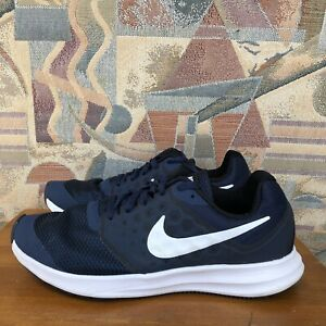 Nike Downshifter 7 (GS) Midnight Navy White 869969-400 Sz 6Y