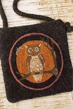 """Punchneedle Pattern by Buttermilk Basin  """"Olde Owl"""""""