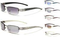 Damen CG Designer Damen Sonnenbrille Rechteckig Objektiv Randlose Mode Brille