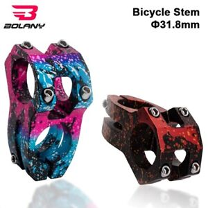 Bolany Bicycle Stem 7075 Aluminum Alloy CNC Seat Tube 28.6 Steerer for 31.8mm