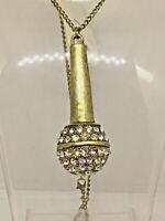 White Tiny Beaded Statement Necklace Ribbon Back Christmas Party Wedding J468