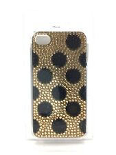 iPhone 4 Clear Cell Smart Phone Cover Case Studded Polka Dot Design Payless Shoe