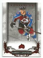 18-19 UD Artifacts Gabriel Landeskog Ruby Parallel #d 032/299 AVALANCHE
