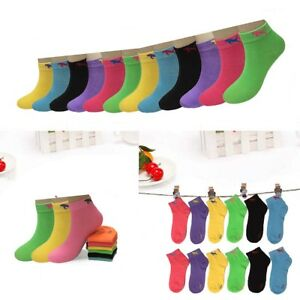 MC.TAM/® Boys Girls Colorful Sneaker Socks Calf Socks 12 Pairs 90/% Cotton Oeko Tex/® Standard 100