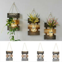 Wall Hanging Plant Pot Hydroponics Plant Glass Vase Garden Vertical Flower rty