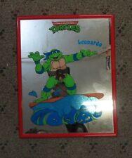 Teenage Mutant Ninja Turtle, TMNT, Leonardo, Mirage Studios, Mirror, 1990