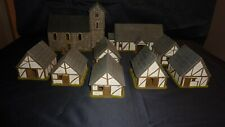 28mm Saxon Village Painted 3D Print Terrain SAGA