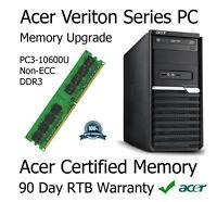 4GB DDR3 Memory Upgrade For Acer Veriton M2610 Computer (Non-ECC | PC3-10600U)