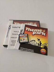 Theme Park - Original Nintendo DS Game
