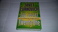 Top Secret Twenty-One by Janet Evanovich (2014, Hardcover) SIGNED 1st/1st