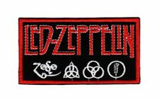 Led Zeppelin Patch Hard Rock Heavy Metal Band