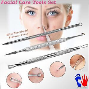 Blackhead Removal Tools Comedones Extractors Comedo Pore Opener Facial Skin Care