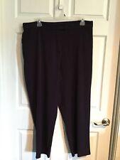 Dress Barn, Woman's 22W, Purple Pants, Part Elastic, 65% Polyester, 35% Rayon