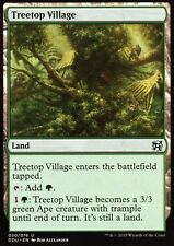 4x Treetop Village | nm/m | Elves vs. Inventors | Magic mtg