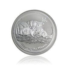 1 kg Silber,Silver Münze Lunar II Maus,Mouse 2008 Perth Mint Australia 30 Dollar