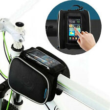 Bicycle Cycling Sport Bike Frame Front Tube Double Side Phone Bag Accessories
