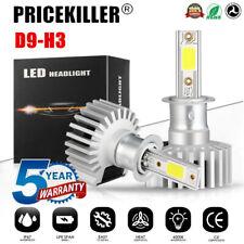 2x H3 LED Headlight KIT Fog Bulb Light Hi/Lo Beam 6000K VS Xenon HID White UK JO