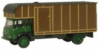 BNIB OO GAUGE OXFORD 1:76 76TK006 BEDFORD TK HORSEBOX LORRY GREEN/BROWN