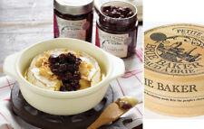 ❀ڿڰۣ❀ PETITE MAISON By WILDLY DELICIOUS Two Cream Ceramic CHRISTMAS BRIE BAKERS