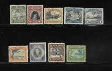 Cook Islands Scott #116-#124 mint hinged 1944-46 complete engraved set og f/vf