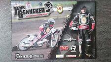 AK m.Orig.AG Jens Benneker GER Grasbahn / Speedway Weltklasse Rarität!