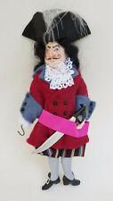 "RARE 1989 SIGNED GLADYS BOALT PETER PAN CAPTAIN HOOK CHRISTMAS ORNAMENT 8"""