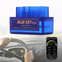 V2.1 Mini ELM327 OBDII OBD2 Bluetooth Auto Car Scanner Interface Diagnostic Tool