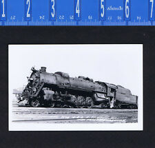 Illinois Central 2546, St. Louis Train Locomotive Cook REAL PHOTO RPPC Postcard