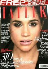 TATLER MAGAZINE DECEMBER 2019 THE MEGHAN ISSUE + WATCH & JEWELLERY GUIDE ~ NEW ~
